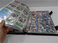 BINDER FULL OF DALLAS COWBOY CARDS 80'S 90'S