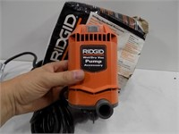 WORKING RIDGID WET DRY VAC PUMP
