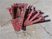 LOT OF 10 GOOD ROOFING JACKS
