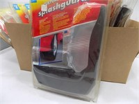 LOT OF 10 NEW OLD STOCK SPLASH GUARDS