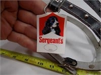 LOT OF 12 NEW OLD STOCK SERGEANTS DOG HARNESS