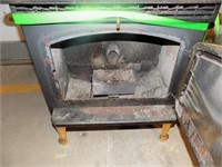 BRECKWELL PELLET STOVE WORKS GOOD MAKES SOME NOISE