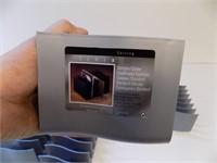 BOX OF DESKTOP ORGANIZERS