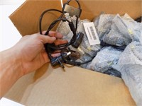 LOT OF AUTO PARTS SPEED SENSORS AND ABS SENSORS