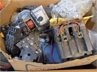 NEW OLD STOCK ELECTRICAL ITEMS AND SOME USED