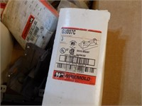 BOX OF WIREMOLD ELECTRICAL PARTS