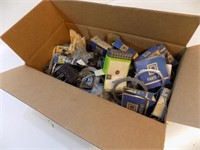 BOX OF ELECTRICAL PARTS
