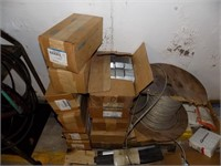 PALLET OF NEW ELECTRIC BOXES AND MORE