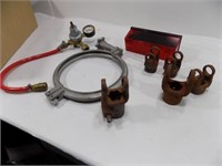 NEW OLD STOCK WEASLER YOKES AND CLAMP AND MORE