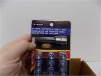 BOX OF NEW SMALL BLOCK CHEVY INATKE BOLT SETS