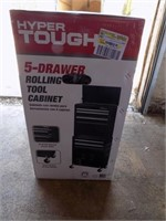 NEW 5 DRAWER ROLLING TOOL CABINET