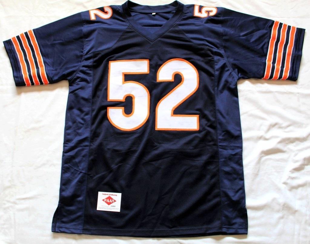 new arrival 88b8e f6750 Kahlil Mack #52 Chicago Bears Autographed Jersey | Linnebur ...