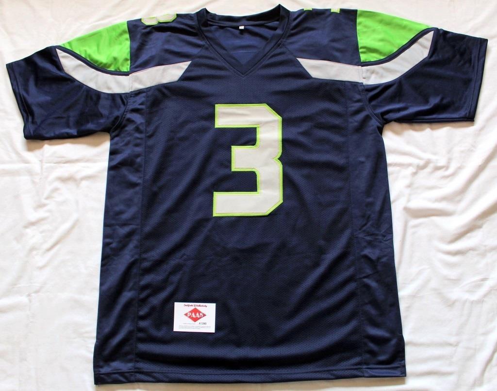 online retailer 7cd5f c68ce Russell Wilson #3 Seattle Seahawks Jersey | Linnebur ...