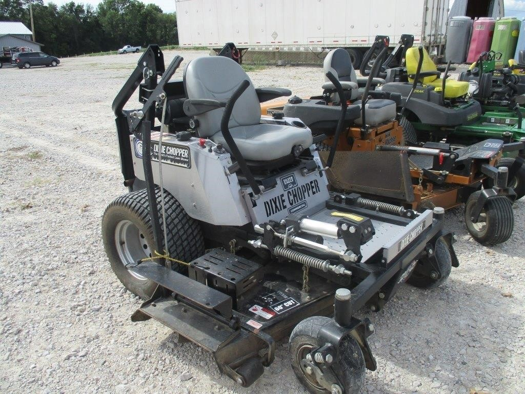 Dixie Chopper Silver Eagle Commerical 27HP Mower | Graber Auctions