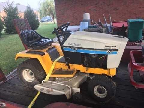 Lot 34 Cub Cadet Hybrid Lawn Tractor Model 1220
