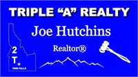 Real Estate Auction 309 VanBuren Twin Falls