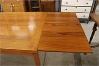 Danish Teak Table with Pull Out Extensions