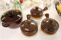 Ceramic Bean Pots
