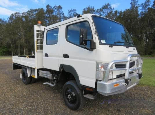 Fuso Canter 4x4 Crew Cab Table / Tray Top - Truck Sales in Australia