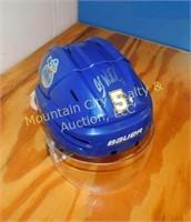 Roanoke Rail Yard Dawgs Helmet Auction