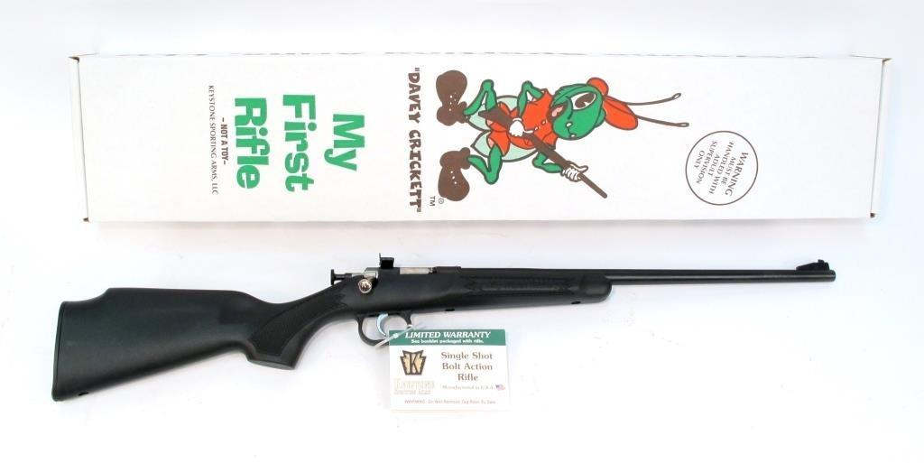 Keystone Cricket  22 LR bolt action single youth | Hessney Auction