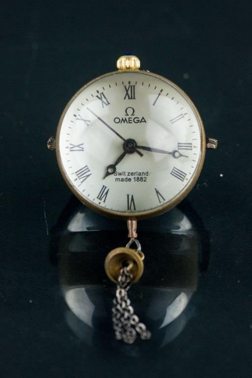 Switzerland 1882 Omega Globular Pocket Watch | 888 Auctions
