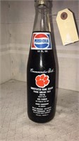 Clemson Pepsi And Trading Cards