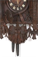 Large Black Forest Cuckoo Clock