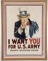 James Montgomery Flagg (American, 1877-1960) World War I recruitment poster