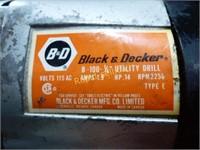 Black & Decker and Makita Tools