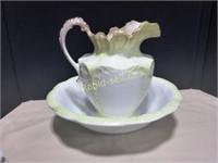 Semi Porcelain Washstand Set