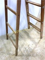 Vintage Wood Step Ladder