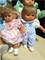 Collection of 30 Year Old Dolls