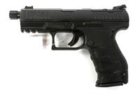 WALTHER MODEL PPQ PISTOL WITH THREADED BARREL 9MM