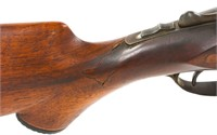 HOPKINS AND ALLEN SIDE BY SIDE SHOTGUN 12 GA