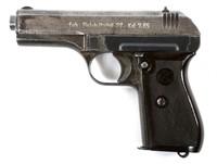 WWII BRNO FNH VZ 27 PISTOL - GERMAN OCCUPATION