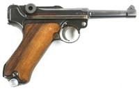 1936 MAUSER S/42 LUGER PISTOL