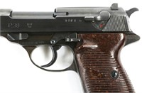 WWII GERMAN MAUSER BYF 44 P38 PISTOL