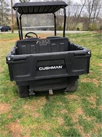 2017 Cushman Hauler 1200