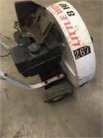 Push blower Little Wonder 8 hp