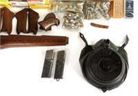 FIREARMS ACCESSORY AND LARGE MIXED AMMUNITION LOT