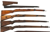 MIXED RIFLE STOCK LOT OF 8