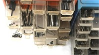 MIXED FIREARM PARTS LARGE LOT OF 5 CABINETS