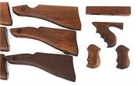 THOMPSON SUBMACHINE GUN STOCK & GRIP LOT