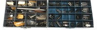SHOTGUN & MIXED FIREARM PARTS LOT IN 5 CABINETS