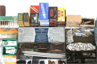 LARGE AMMUNITION AND FIREARM ACCESSORY MIXED LOT