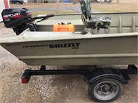 Grizzly Boat
