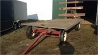 8'x16' White Oak Hay Wagon