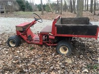 Yard Buggy with Dump Bed