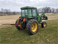 1999 John Deere 5510 2wd tractor